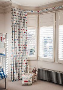 Nursery blackout curtains