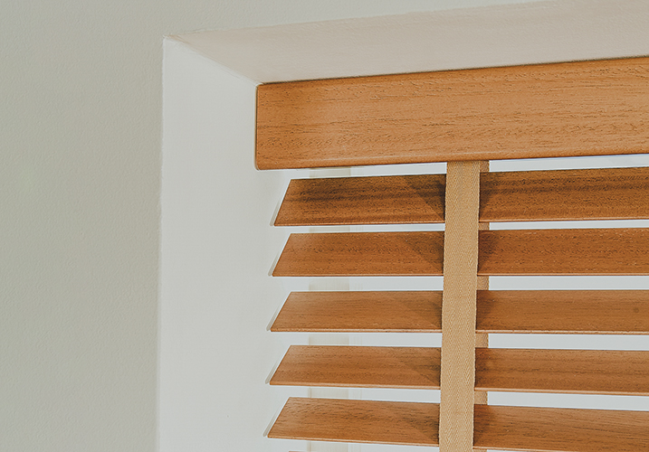 Wooden Venetian Blind 1 - Gallery